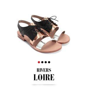 John Fluevog Rivers LOIRE sandals US 7,5